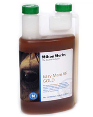 Hilton Herbs Equine Nerves & Hormones - Easy Mare Gold Valerian Free