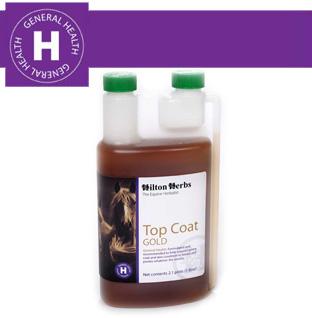 Hilton Herbs Equine General Health - Top Coat Gold