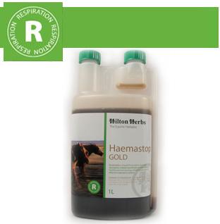 Hilton Herbs Equine Respiration Haemastop Gold