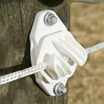 Super Duty Line Post Insulators - White