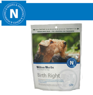 Hilton Herbs Canine Nerves & Hormones Birth Right