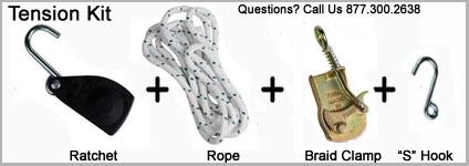 Electrobraid Tension Kit