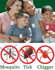 Shoo!TAG Personal Insect Control - Mosquito -Tick & Chigger