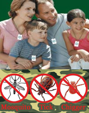 Shoo!TAG Personal Insect Control - Mosquito -Tick & Chigger (Camouflage)
