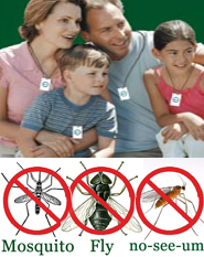Shoo!TAG Personal Insect Control - Mosquito - No-See-Ums & Fly