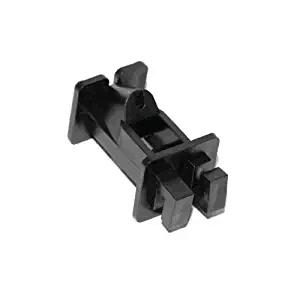 Braid 2 Inch Offset Insulator- Black (25 Per Pk)