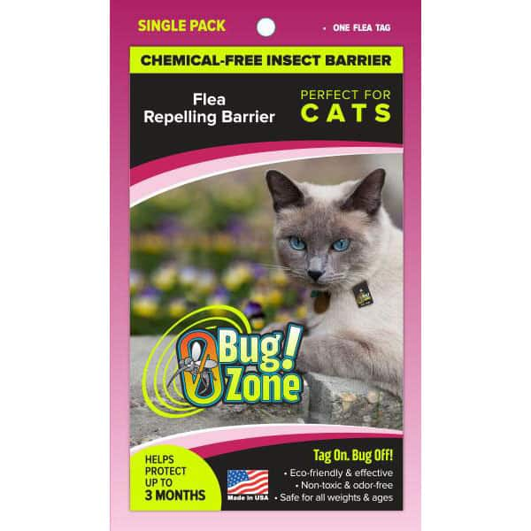 0Bug!Zone Cat Flea Single