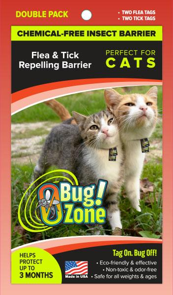 0Bug!Zone Cat Flea Tick Double