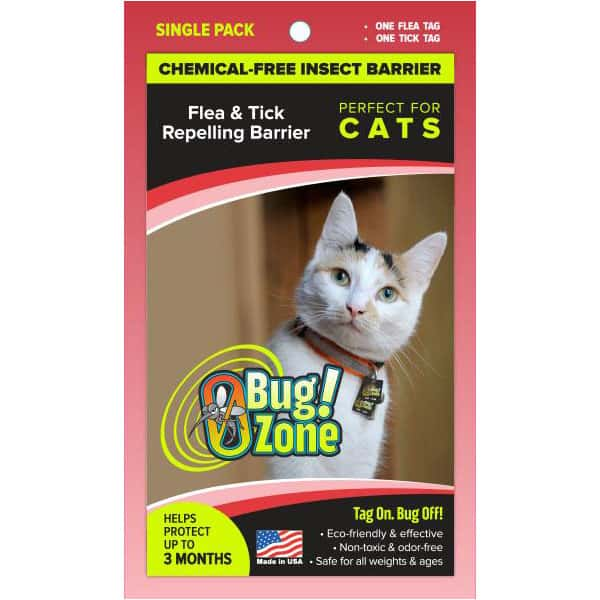 0Bug!Zone Cat Flea & Tick Single