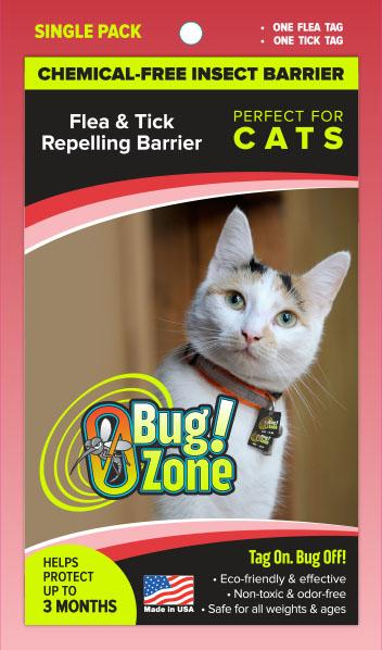 0Bug!Zone Cat Flea Tick Single