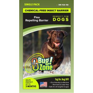 0Bug!Zone Dog Flea Single Pack