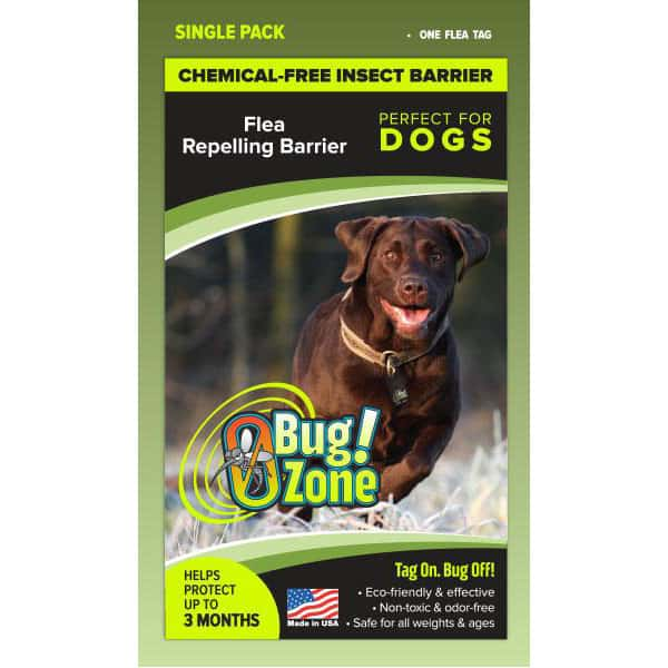0Bug!Zone Dog Flea Single