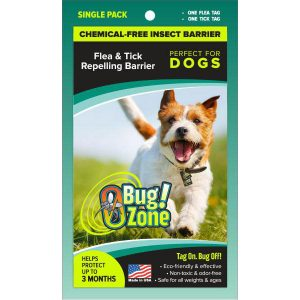 0Bug!Zone Dog Flea & Tick Single Pack