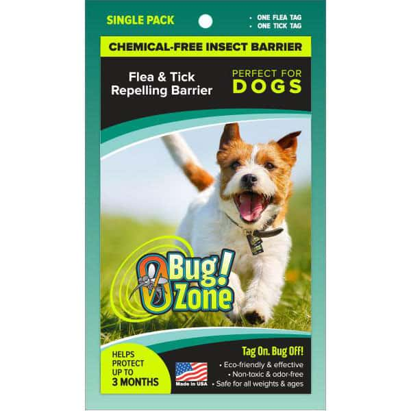 0Bug!Zone Dog Flea & Tick Single