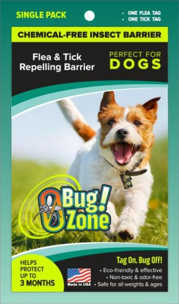 0Bug!Zone Dog Flea Tick Single