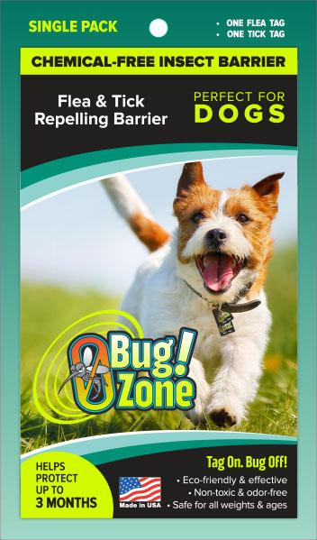 0Bug!Zone Dog Flea Tick Single