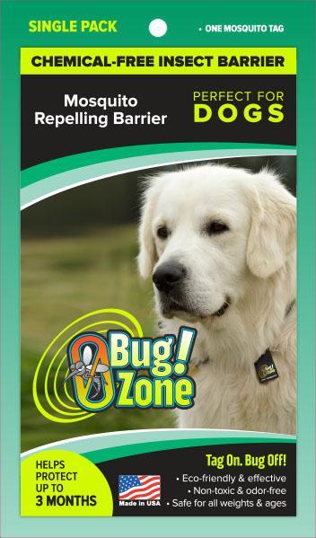 0Bug!Zone Dog Mosquito Single