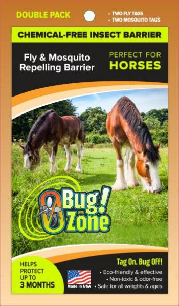 0Bug!Zone Horse Fly Mosquito Double Pack