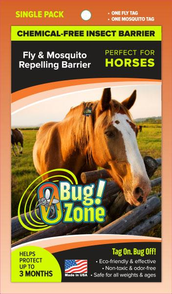 0Bug!Zone Horse Fly Mosquito Single