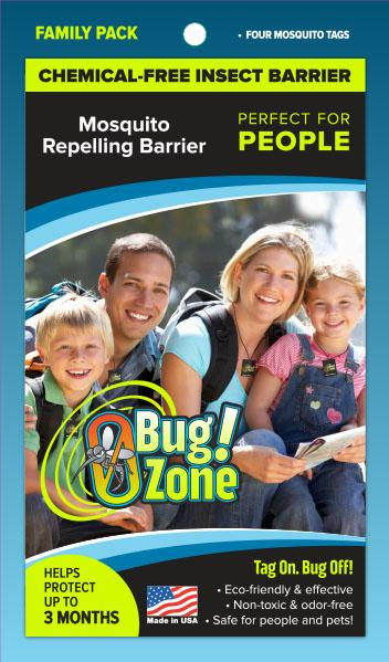 0Bug!Zone People Mosquito Family Pack