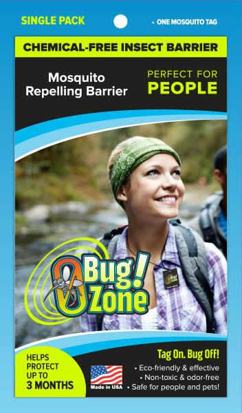0Bug!Zone People Mosquito Single