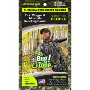 0Bug!Zone People Tick, Chigger & Mosquito Outdoor Camo Pack