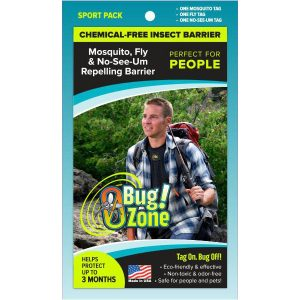 0Bug!Zone People Mosquito, Fly & No See-Um Sport Pack