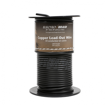 Electrobraid Copper Lead Out Wire