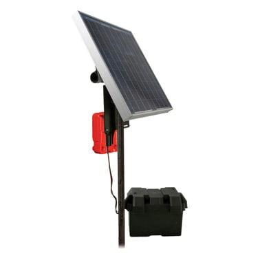 Electrobraid Fence Speedrite 3000 with Solar Panel