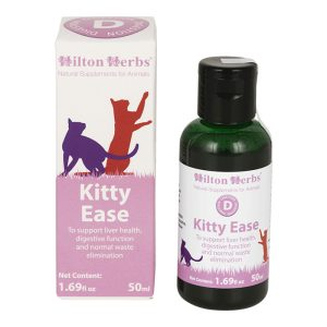 Hilton Herbs Kitty Ease  1.69 Fl Oz