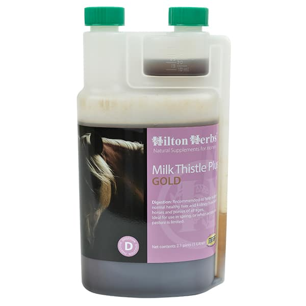 Hilton Herbs Milk Thistle Plus Gold
