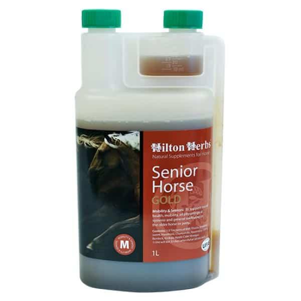 Hilton Herbs Senior Horse Gold